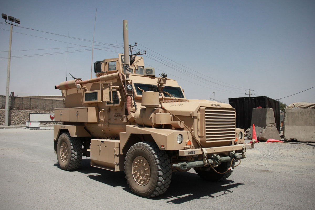 Cougar 4x4 Mrap Military Com