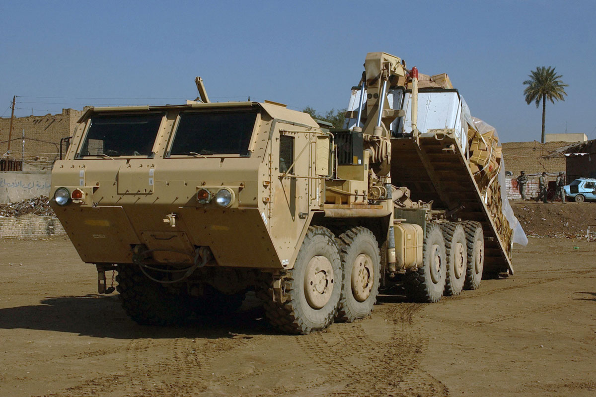 Heavy Expanded Mobility Tactical Truck | Military.com