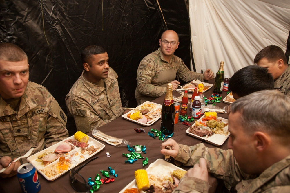 What's Your Favorite Thanksgiving Military Memory?