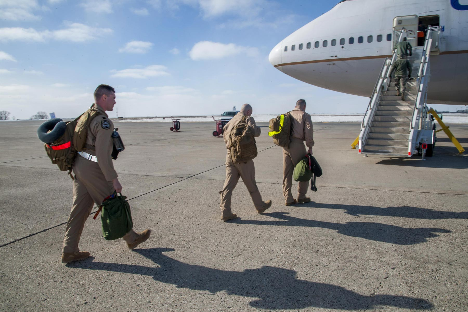Air Force Looks To Team Deploying Airmen In Specialty