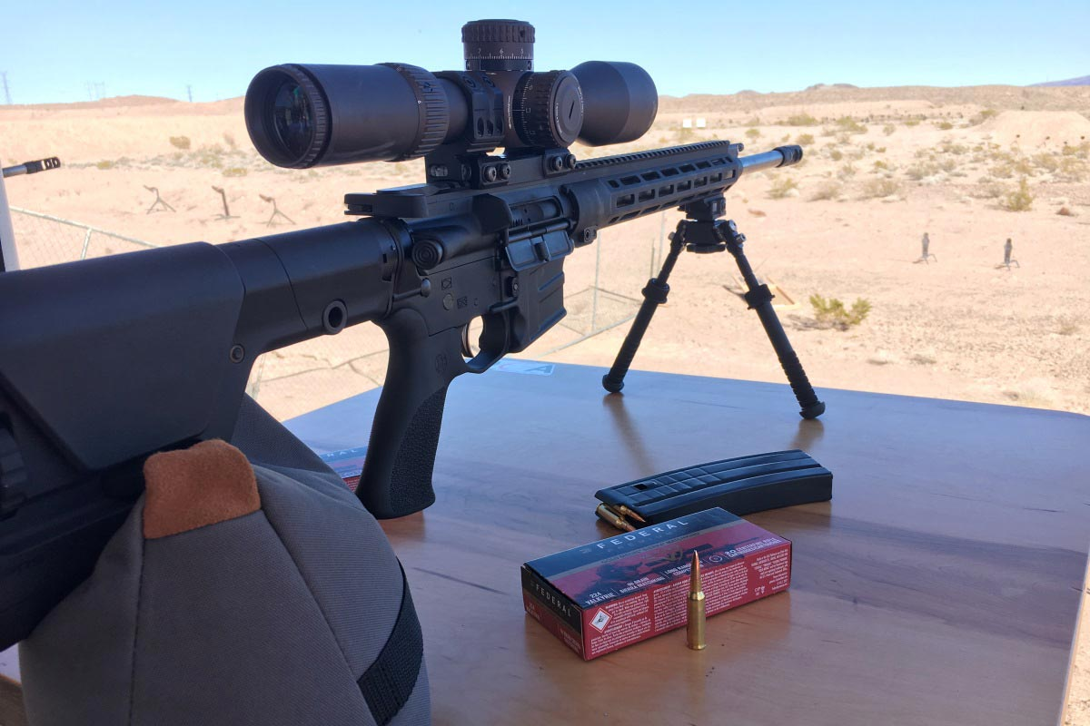 Savage 224 Valkyrie Rifle Beats The 223 By 400 Yards