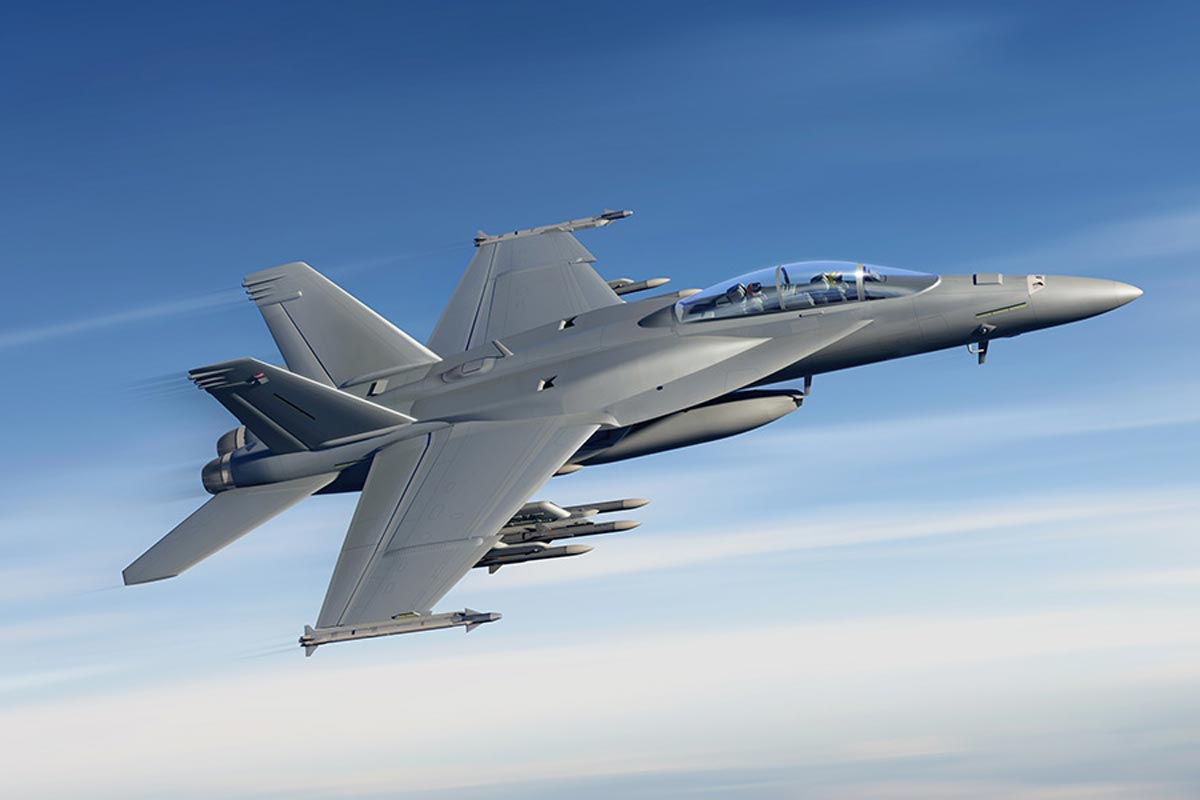 upgraded super hornet features only minor stealth
