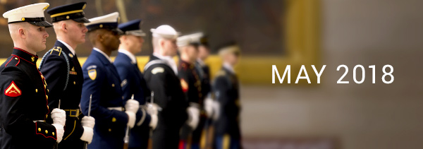 May 2018 - National Military Appreciation Month