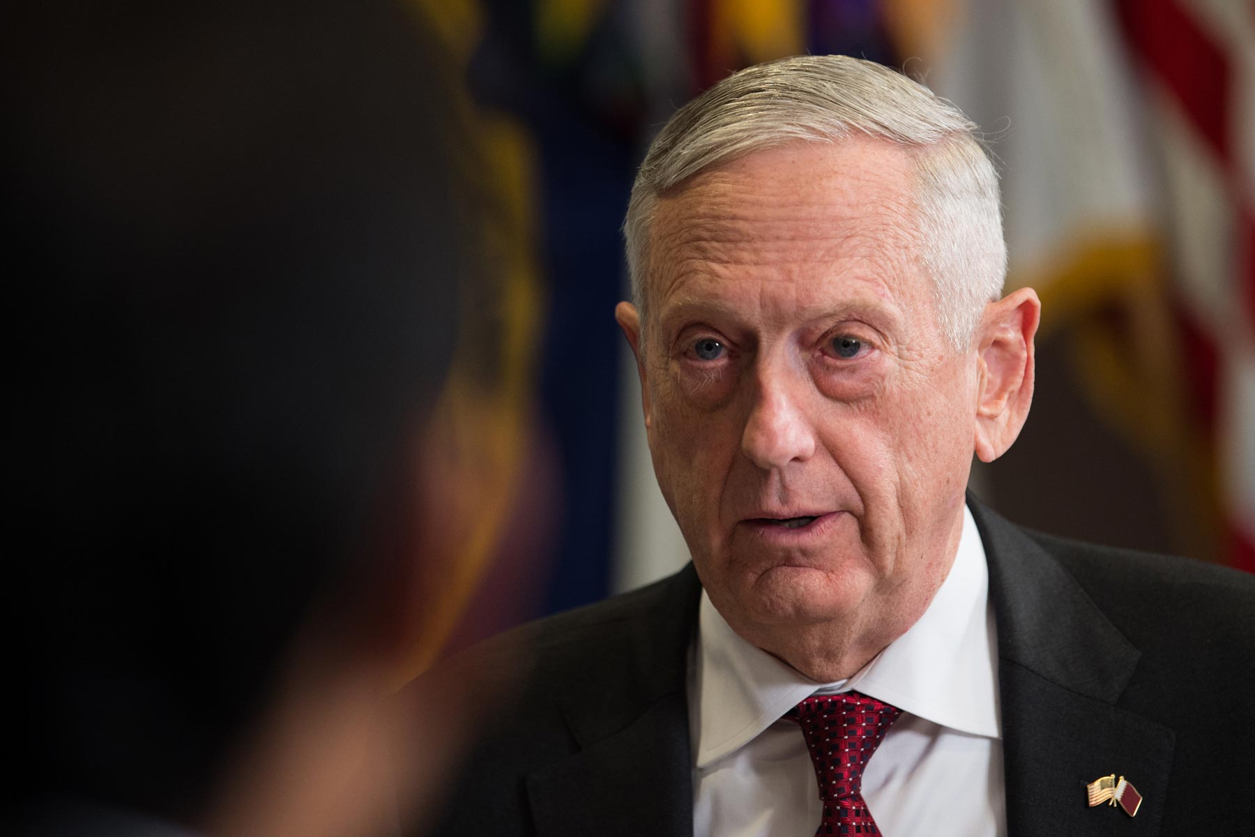 quality design ed520 76dee Mattis Says US Troops Will Remain in Syria, Afghanistan for Long Haul