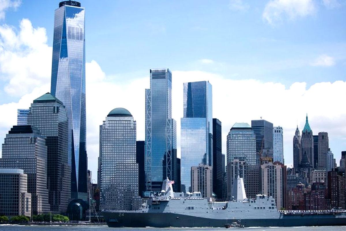 Uss Arlington Named To Honor 9 11 Victims Visits Nyc