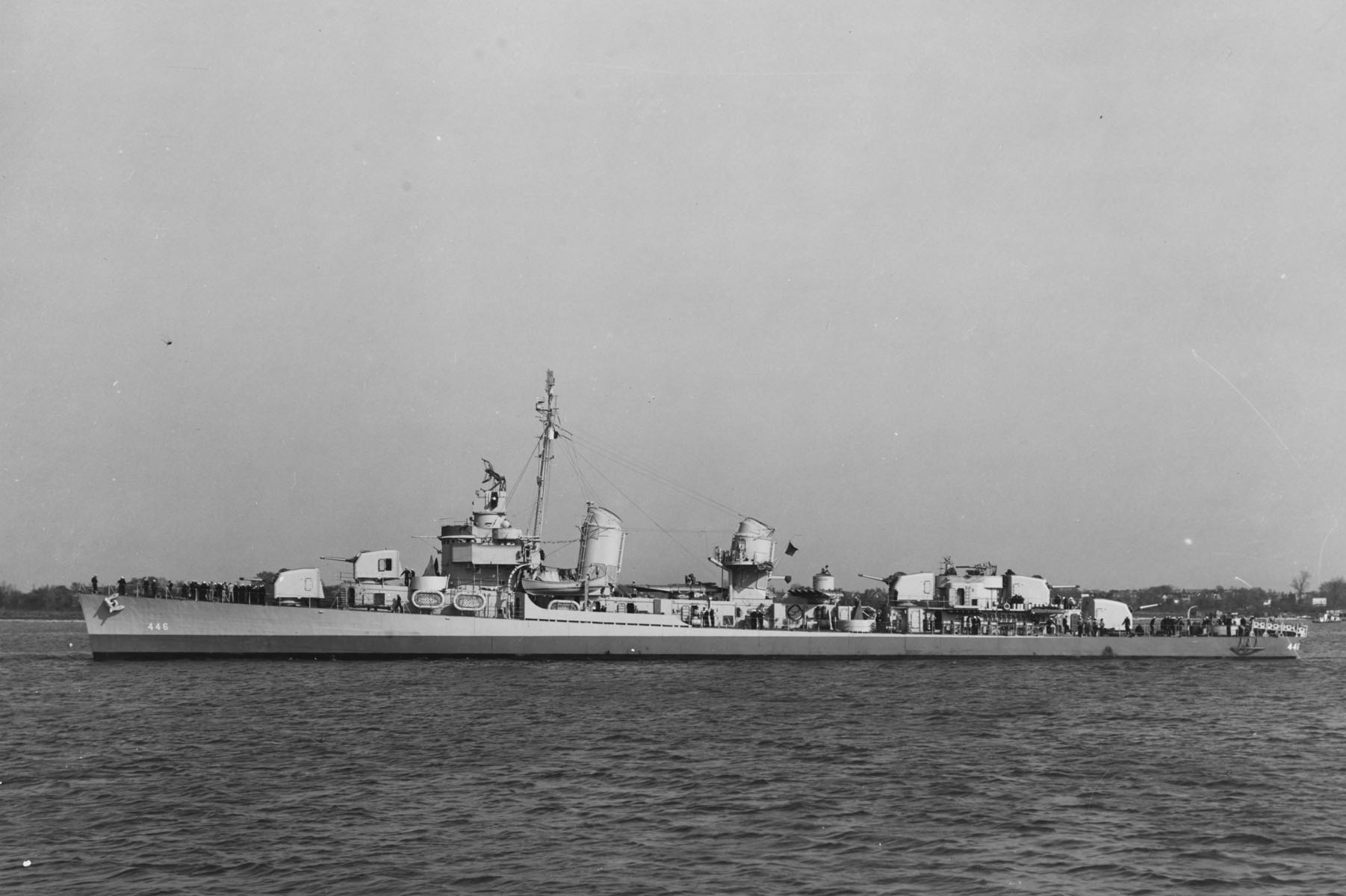 This Destroyer Did the US Proud Through Three Wars