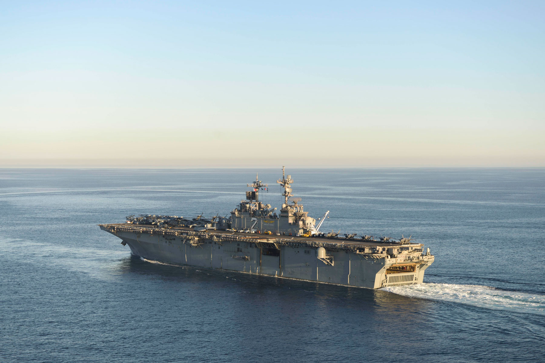 Search Underway for Marine Who Went Overboard Near the Philippines