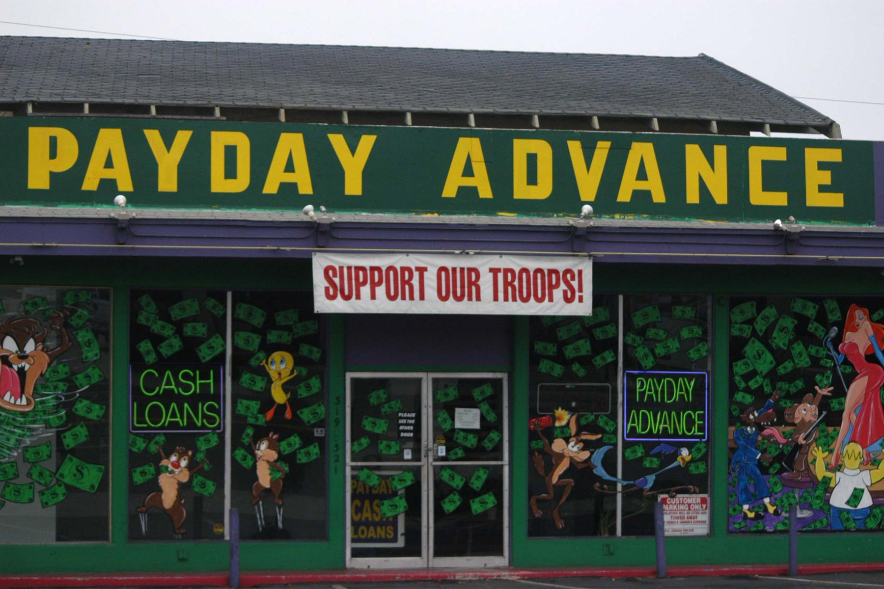 Lawmakers Charge Trump Administration Easing Up on Payday Lenders to Troops
