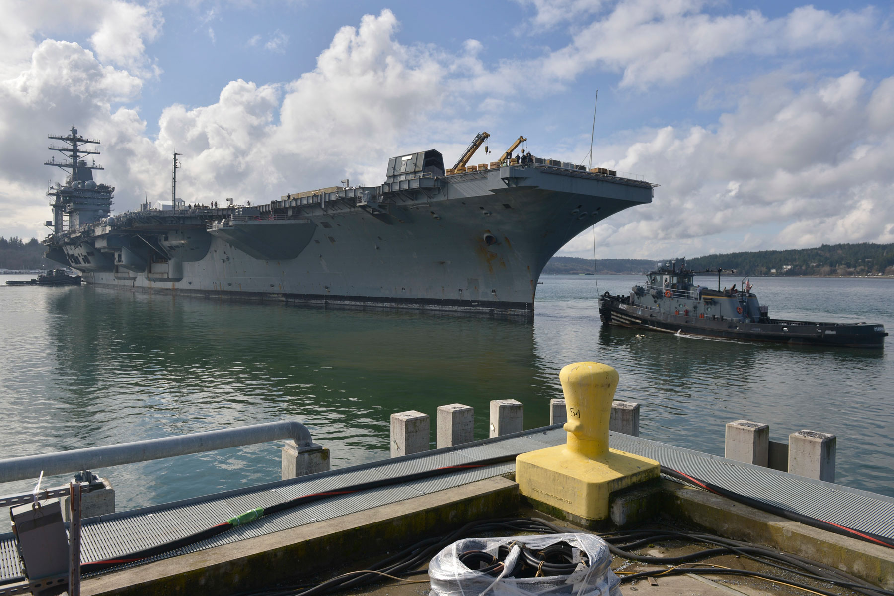 Navy Dumps Hazardous Substances into Puget Sound: Washington State AG