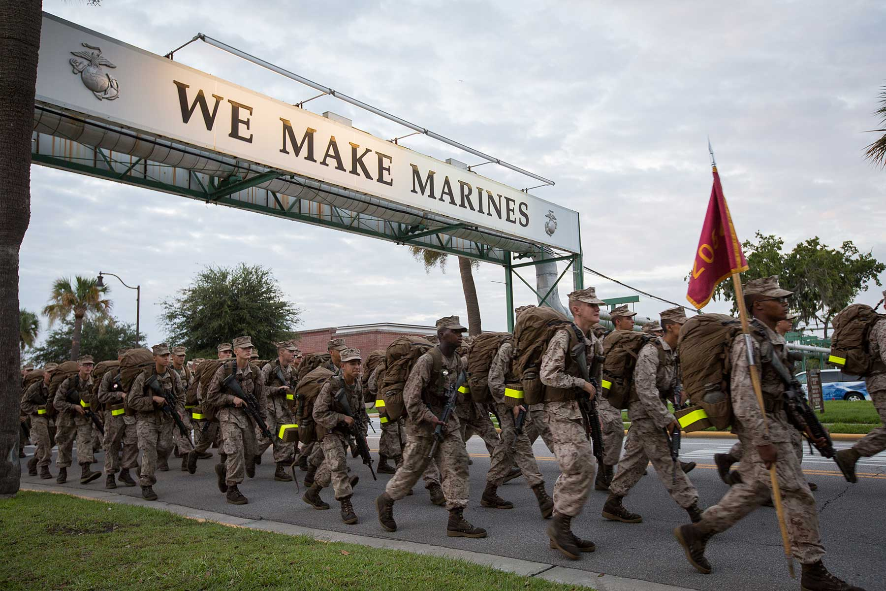 Few Marines Face The Parris Island 'Mind Game' This