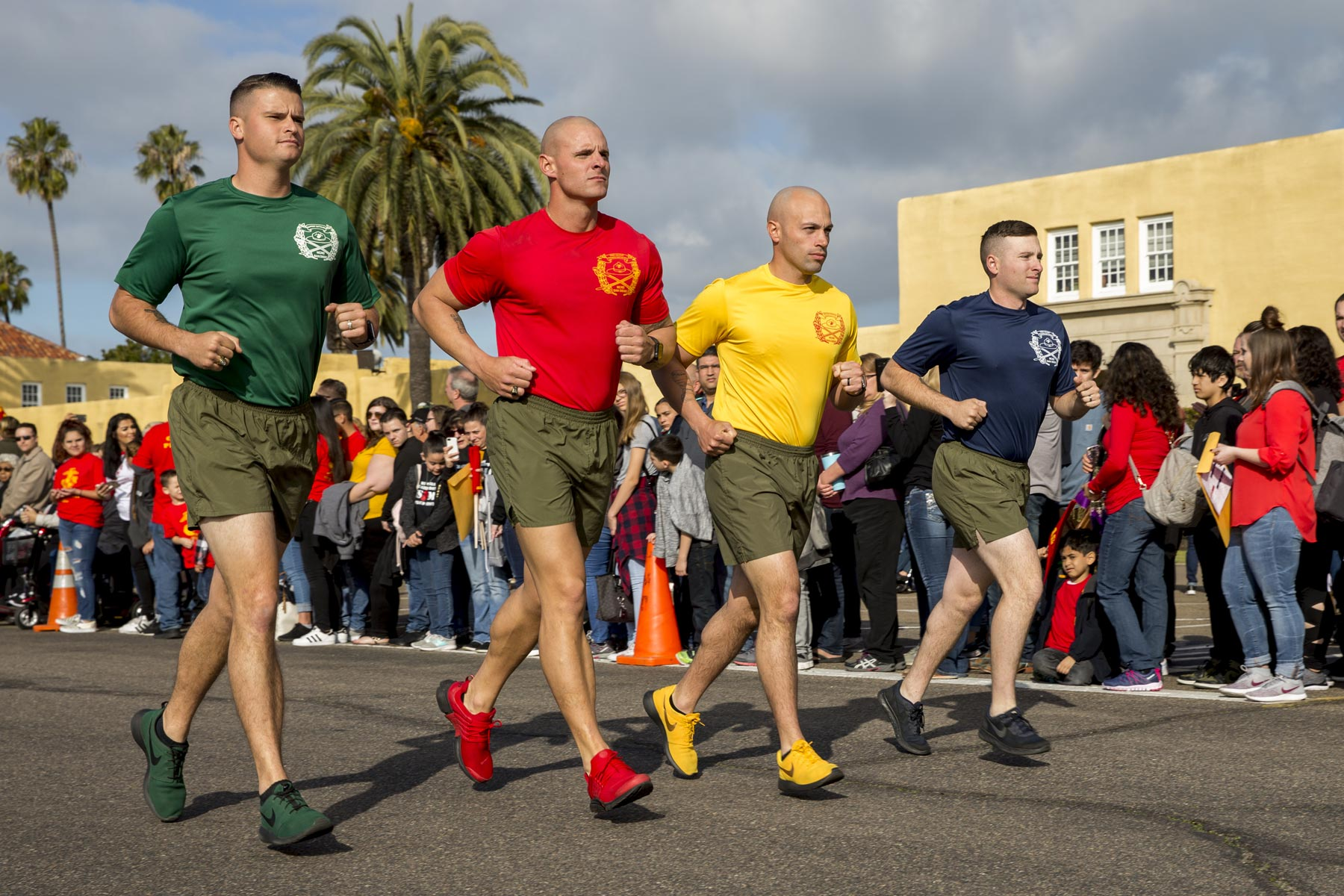 The Military Has Begun Issuing Sneakers to Recruits at Boot Camp