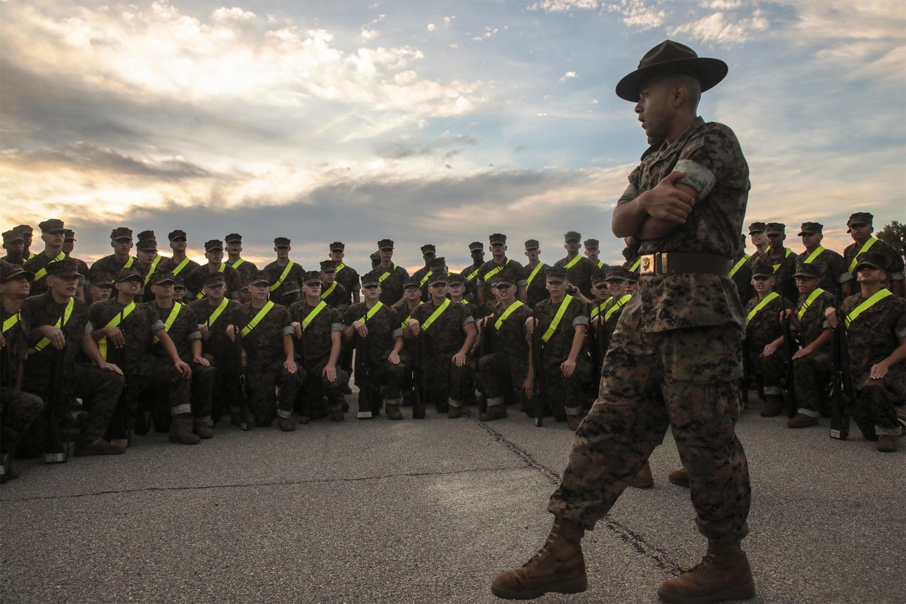 Female Recruits To Train In Previously All-Male Battalion