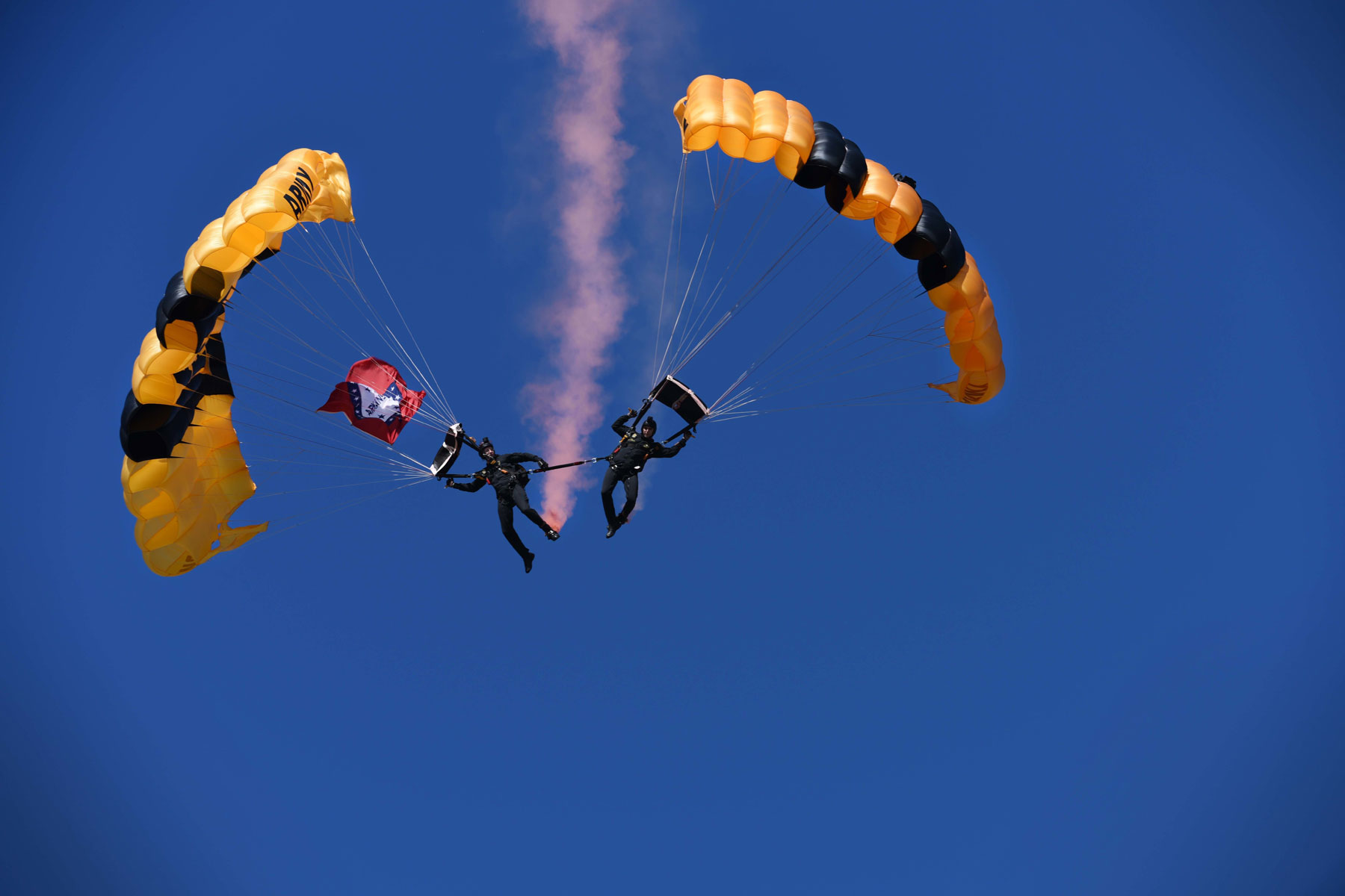 Condition of One Injured Army Golden Knights Member Upgraded