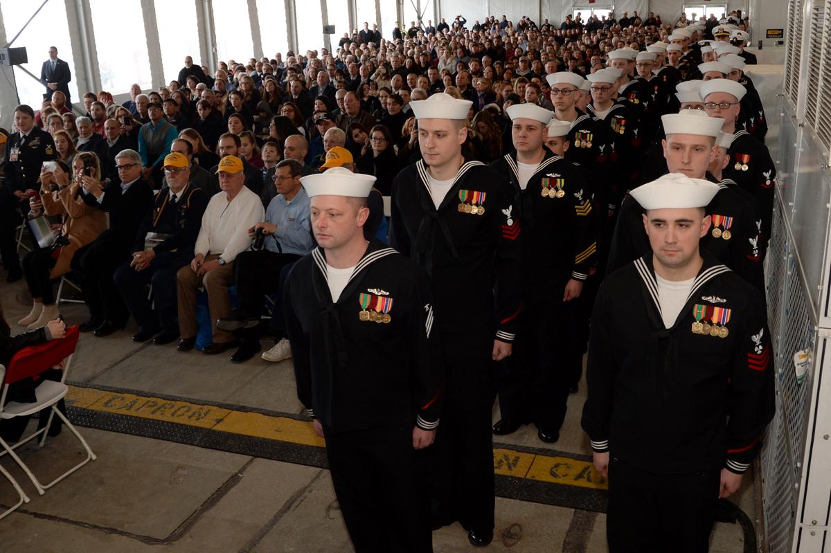USS South Dakota Joins Fleet as 'Most Modern Sub in the World'