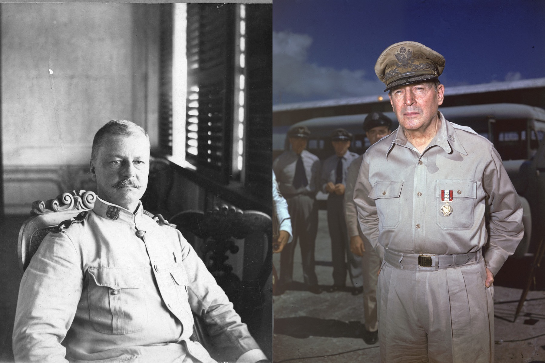 How Gen Douglas Macarthur And His Father Helped Shape
