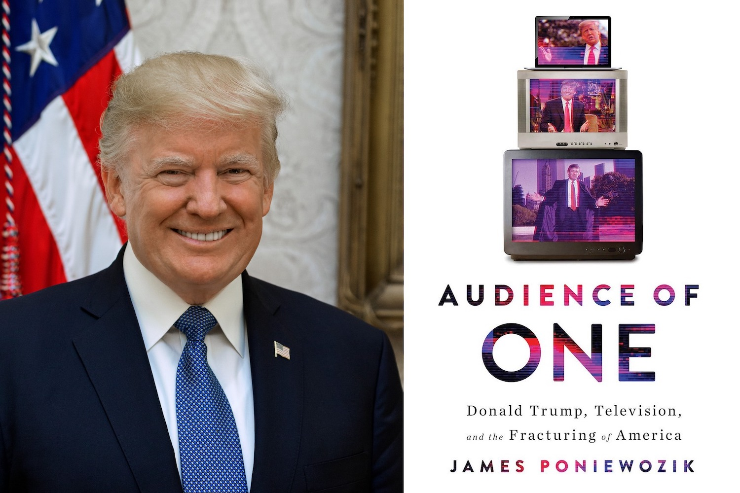 Book Explains How Cable TV, Trump's Presidency Unquestionably Tied Together