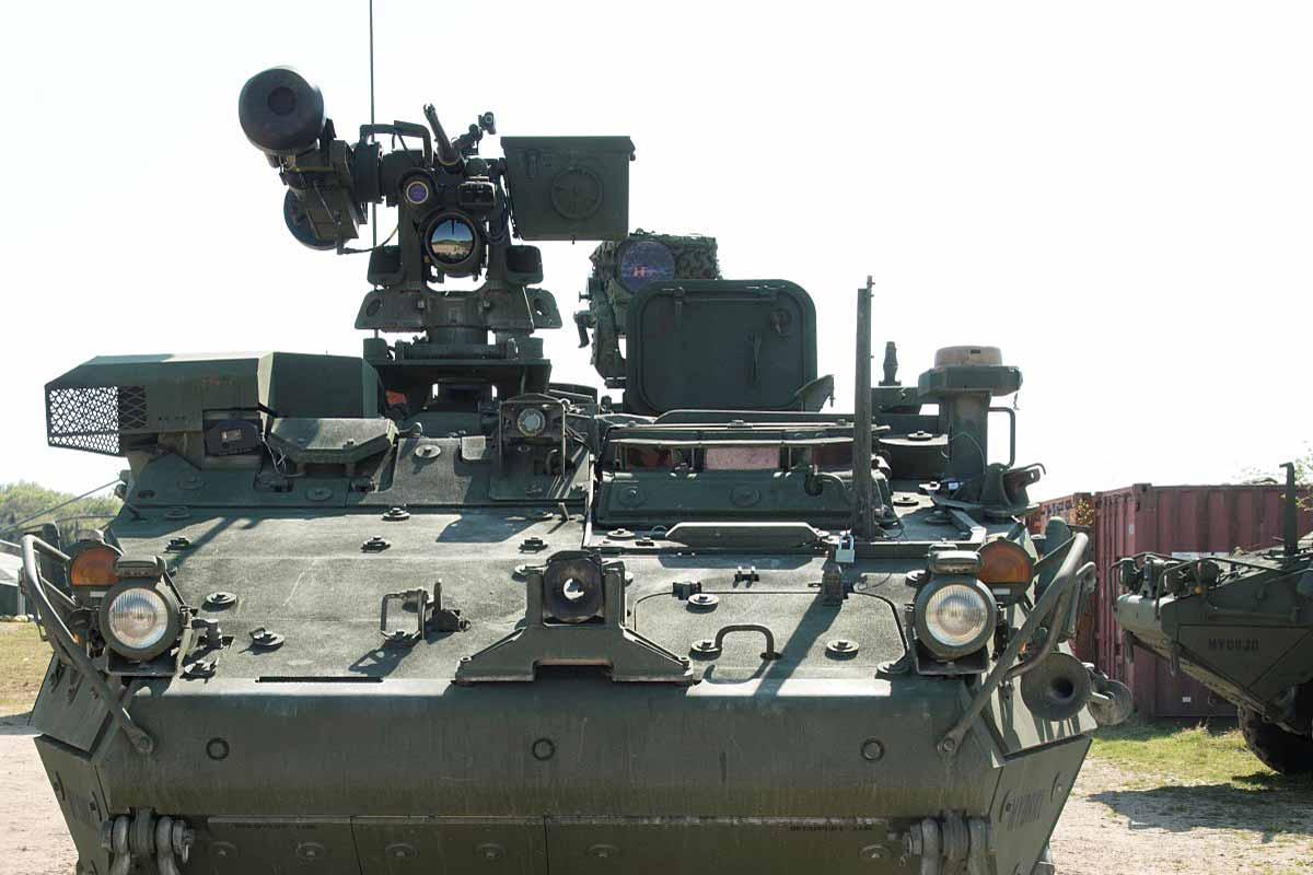 Army Details Plan to Equip Stryker Infantry Carriers with Tank-Killing Missiles