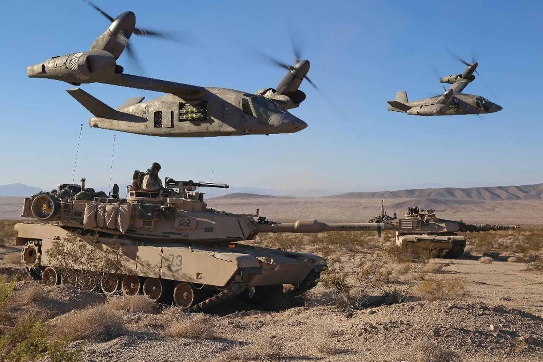 The Army Is Already Building Robot Vehicles, Futuristic Helos into its Battle Simulations