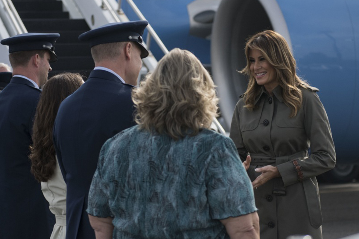 Melania Trump May Send You a Care Package to Lighten Up Your Holiday Deployment
