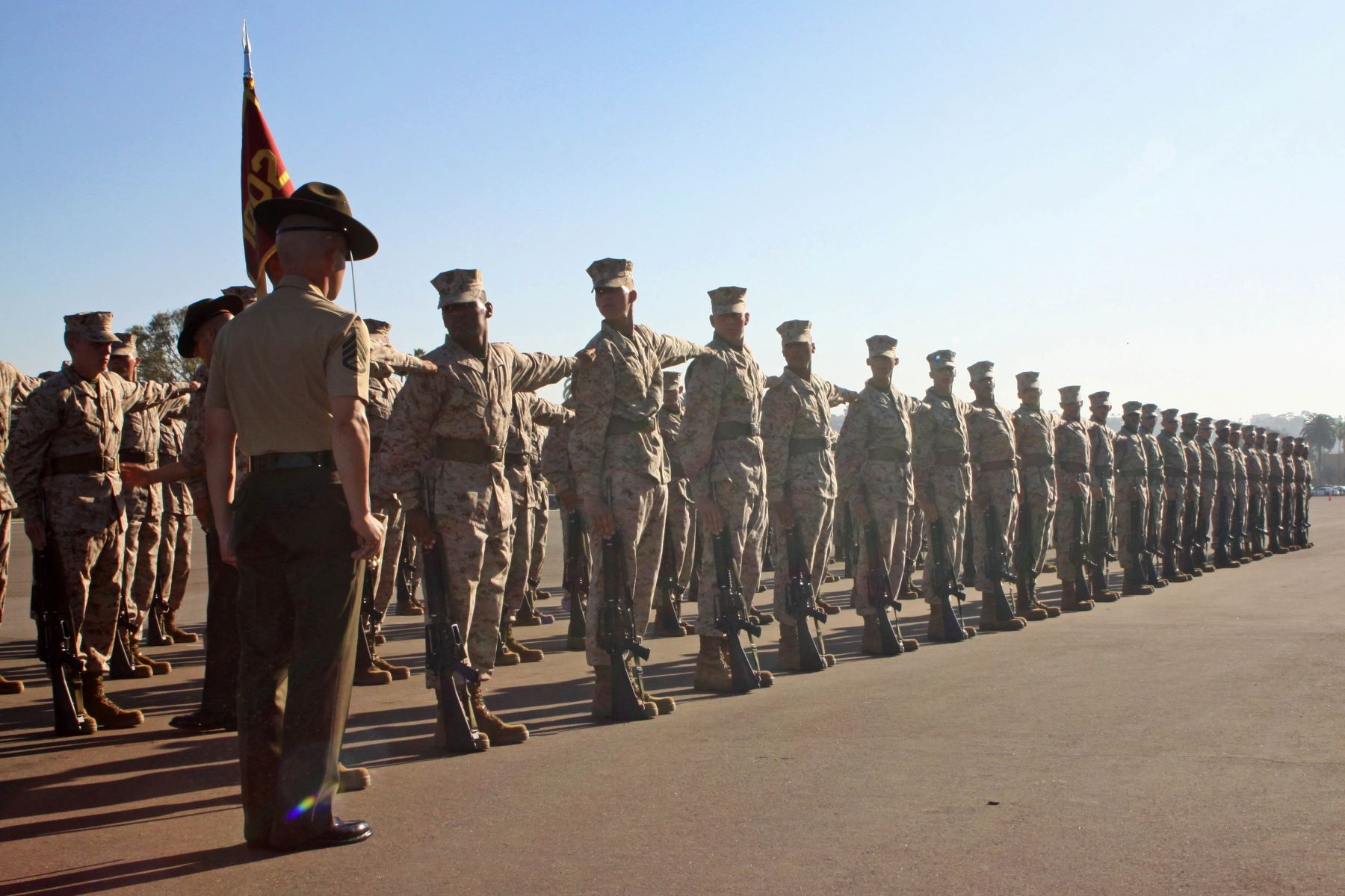 Marine Drill Instructors' 'Unacceptable' Comments About Women Must Stop, General Says