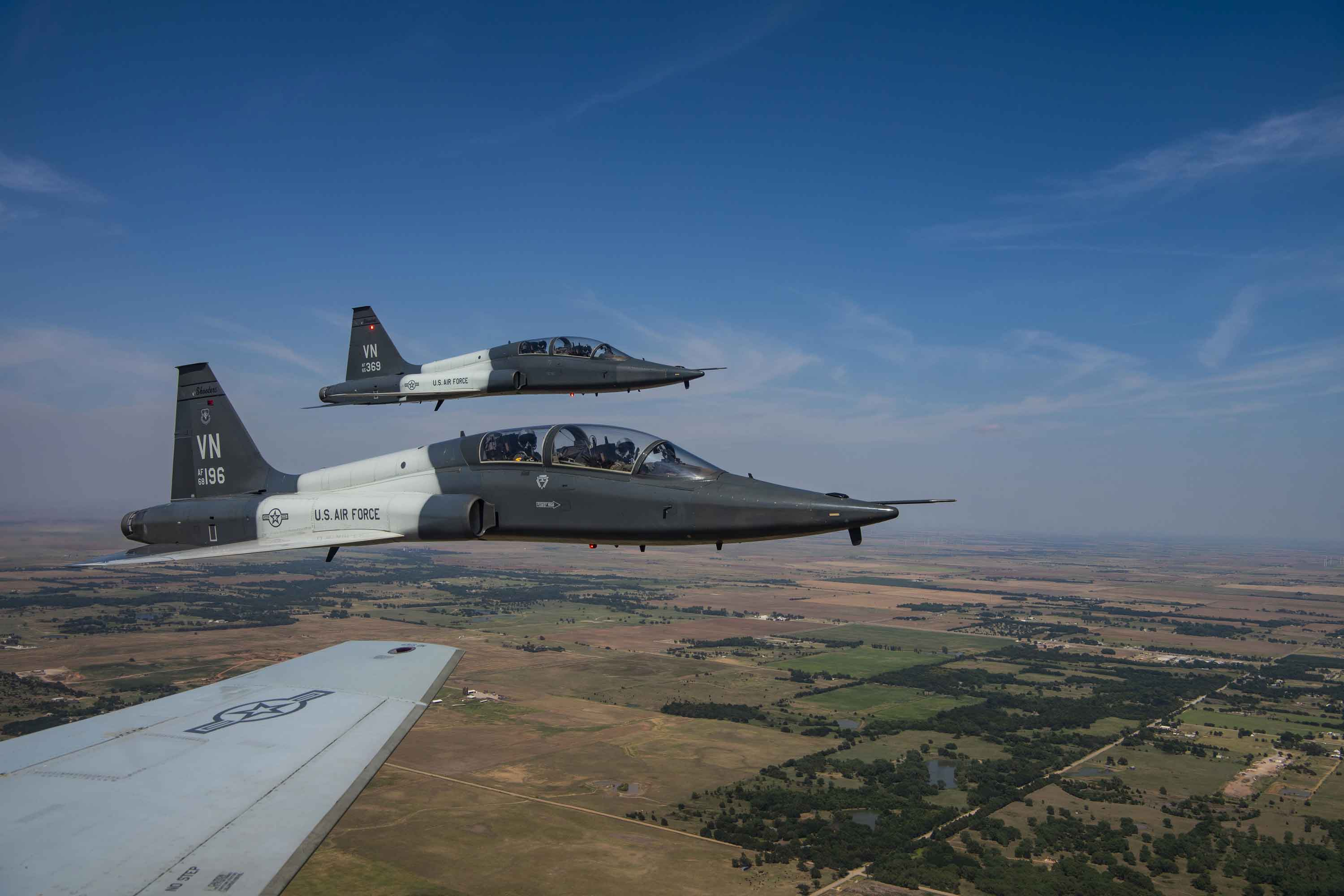 2 Airmen Dead After T-38 Trainer Aircraft Accident at Vance AFB