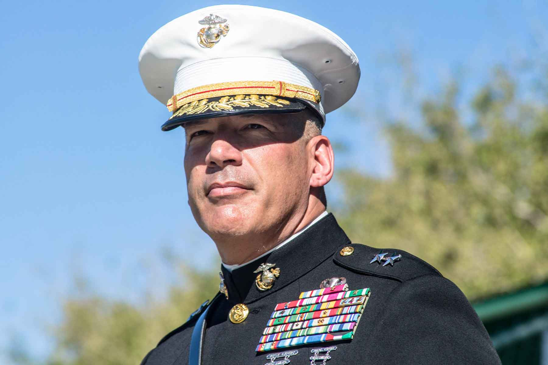 Marine Corps Training Chief Says He's Open to Ending Gender-Segregated Boot Camp