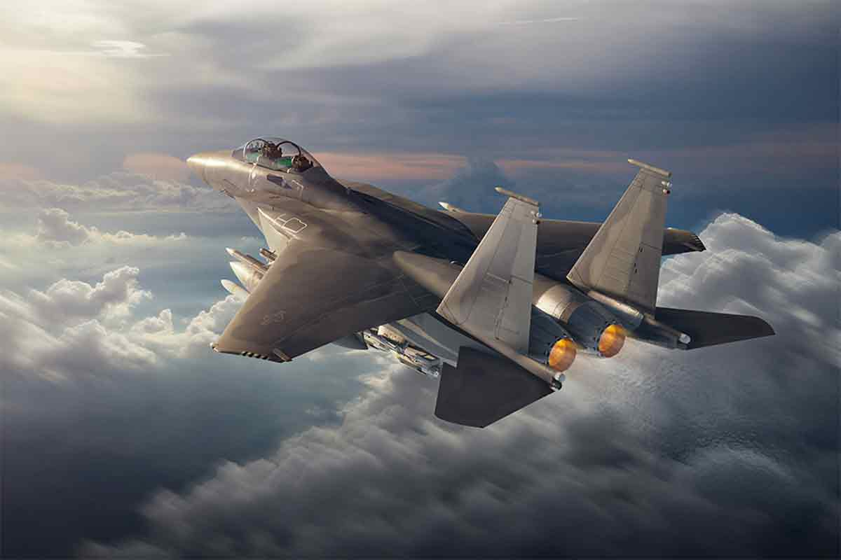 Air Force Moves Forward with F-15EX Fighter Jet Buy