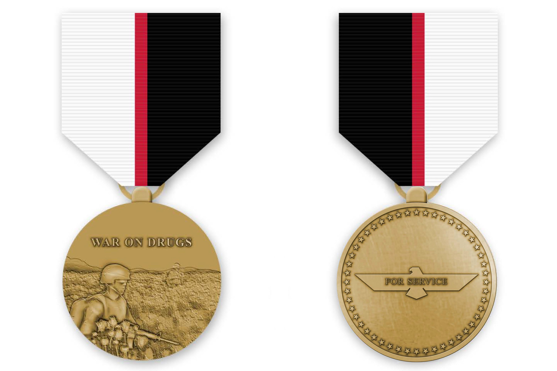 Petition Would Create Military Medal to Honor Those Fighting in the 'War on Drugs'