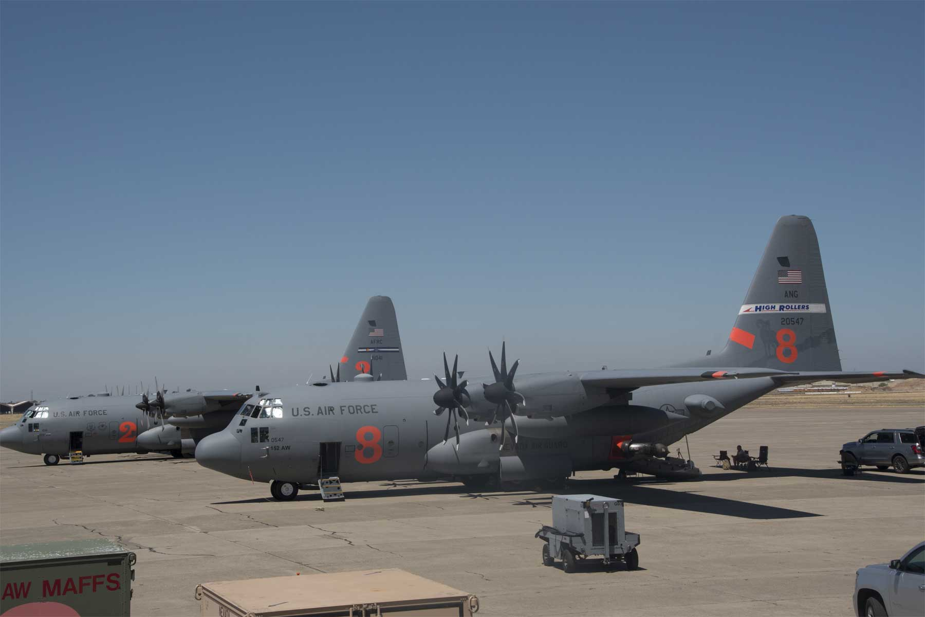 Senators Want Upgraded C-130s Assigned to Western Firefighting Mission