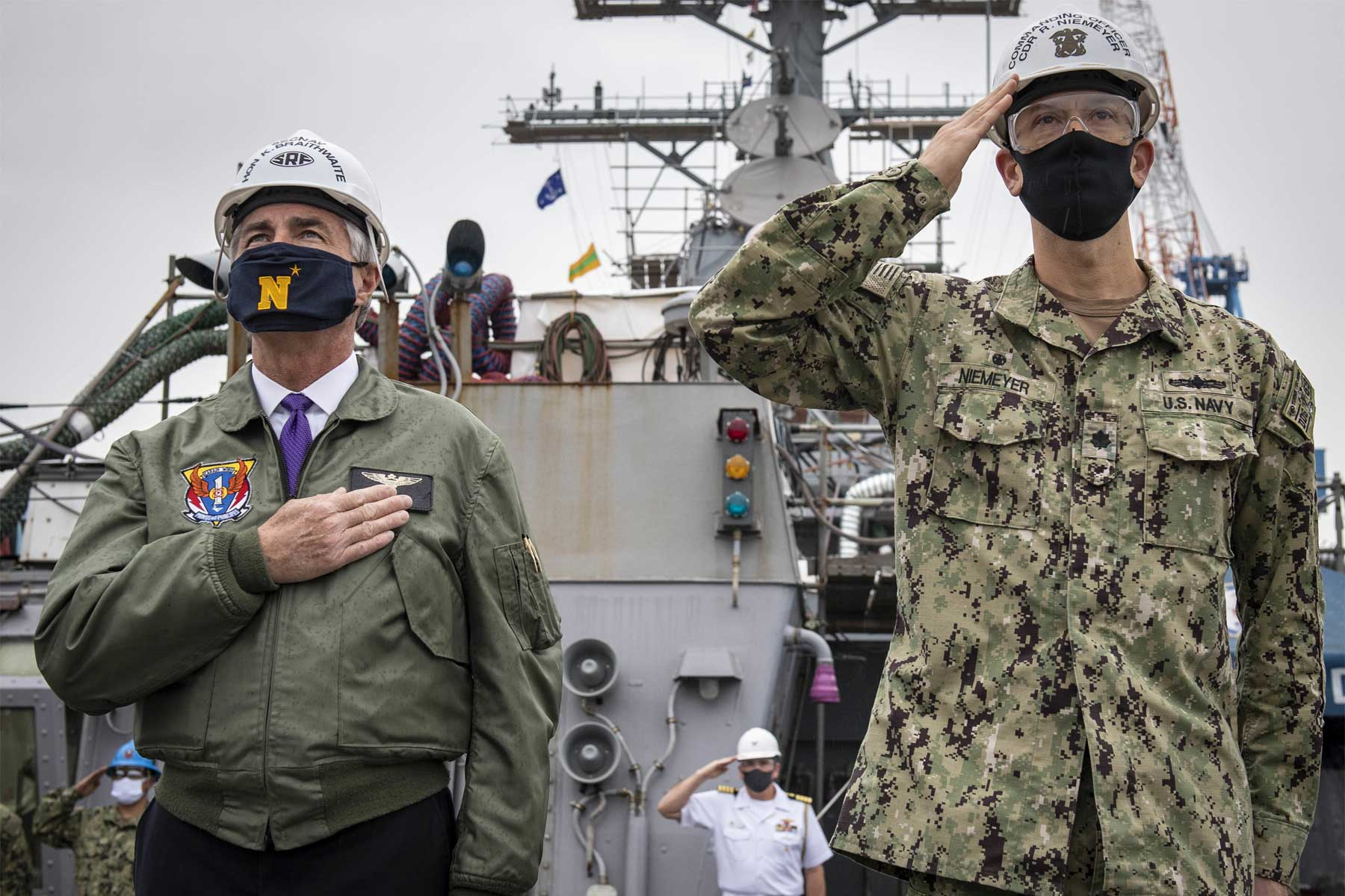 SecNav Says China Poses 'Threat Beyond Any Comparison' to American Way of Life