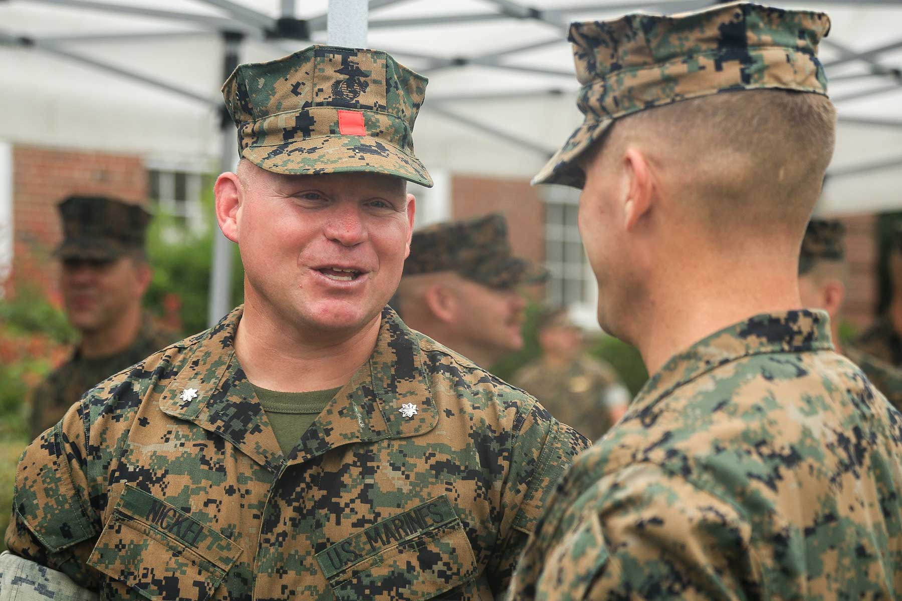 Marines Will Be Seeing More of These Red Patches on Utility Covers. Here's Why
