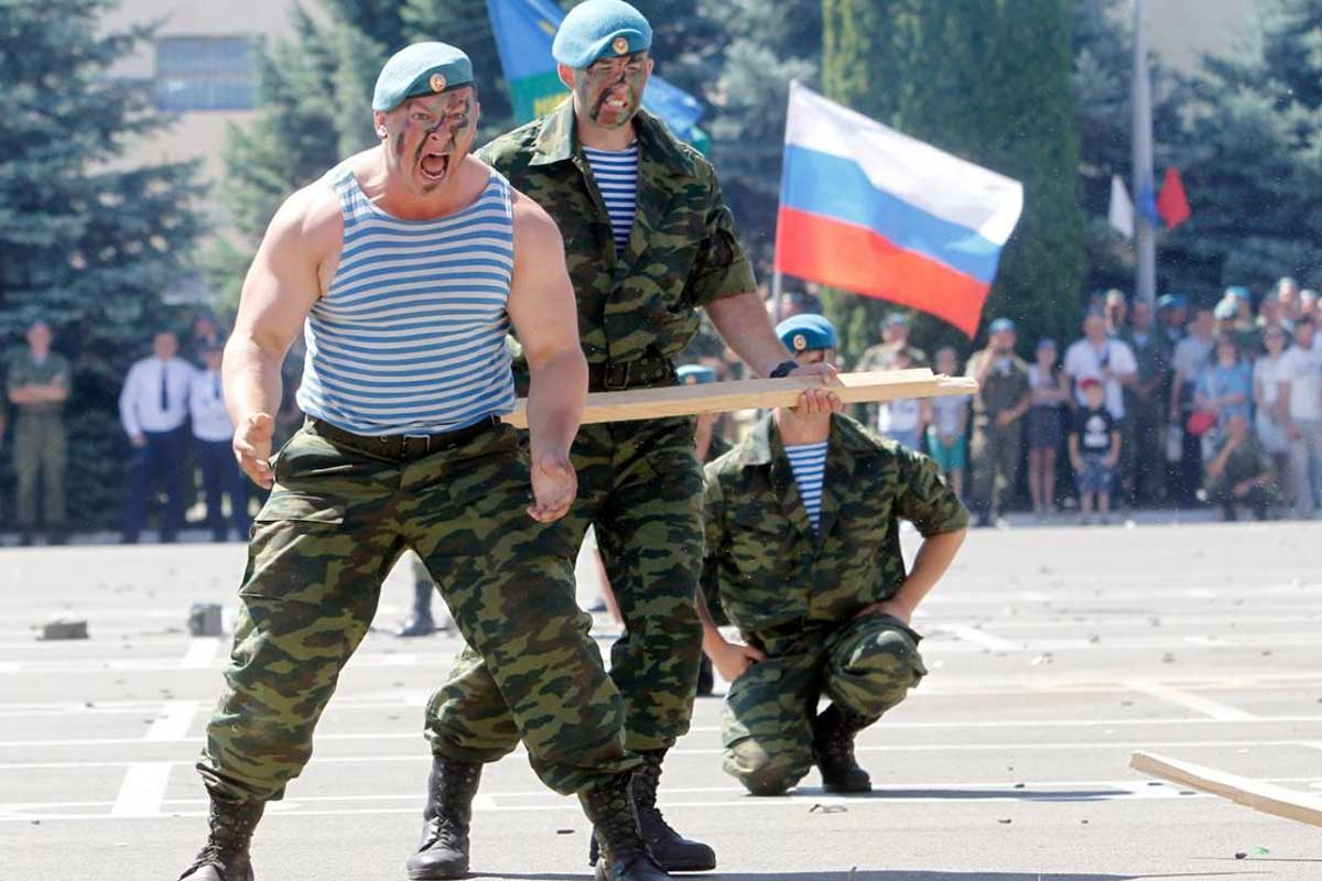 Russia's 'Paratrooper Day' Is the Wildest Veterans Party in the World