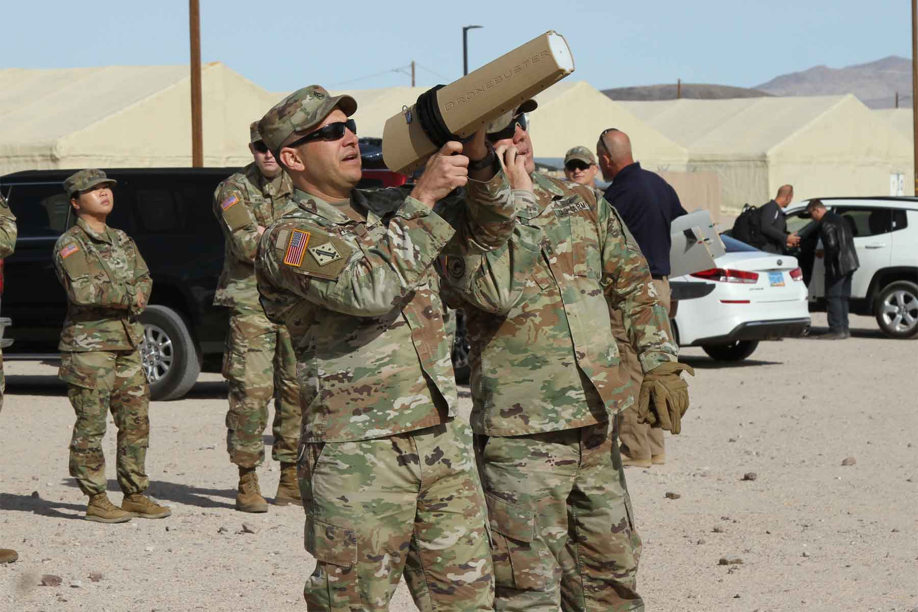 US Military News • US Military Test Hand-Held • Drone Defender System