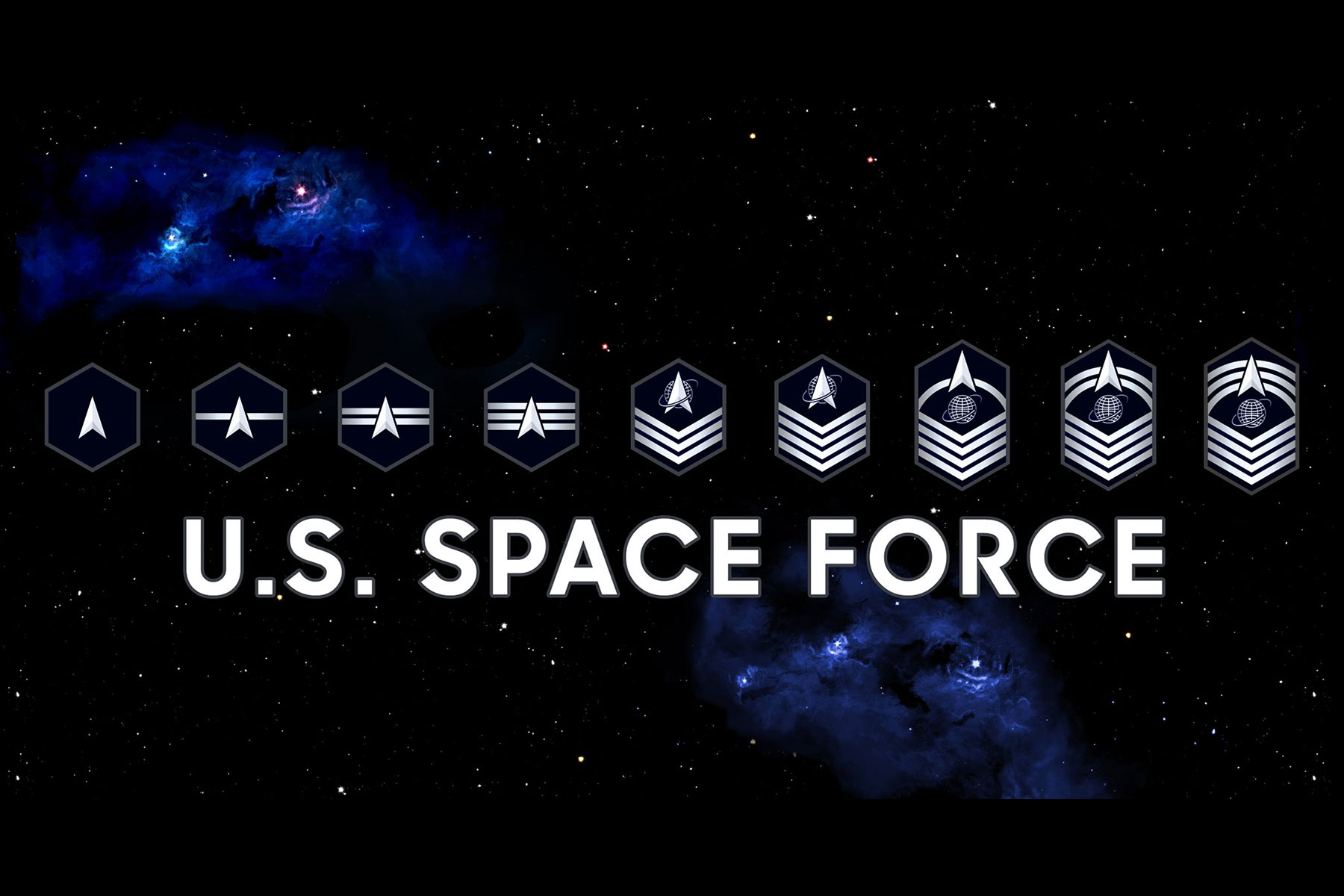 The Space Force Finally Has Its Own Rank Insignia