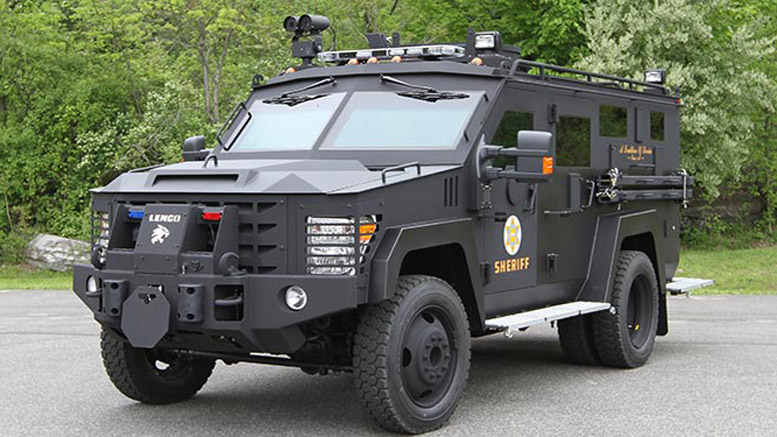 this armored vehicle punched hole in wall to save orlando