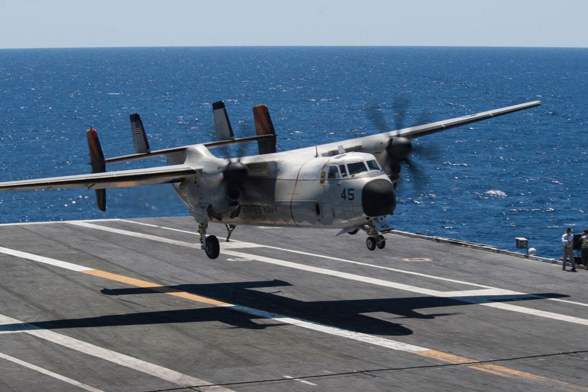 Resultado de la imagen para C-2A Greyhound