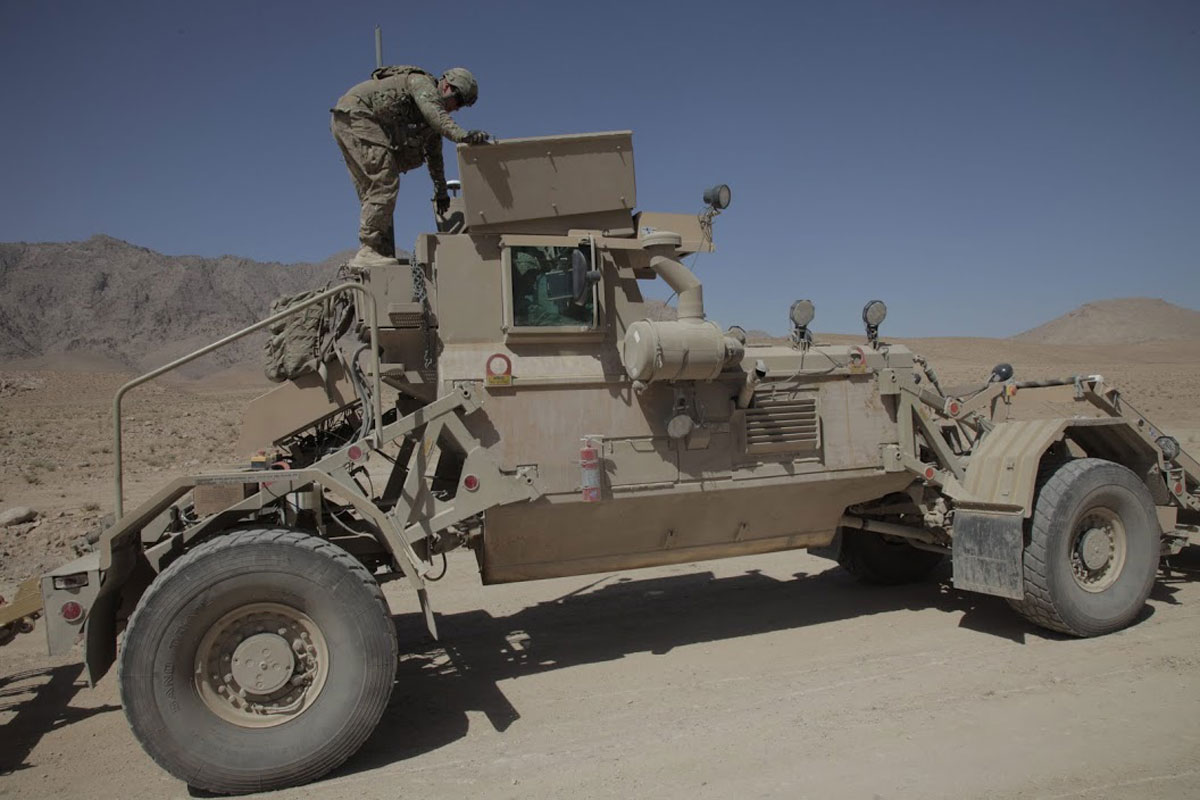 Husky MK III VMMD Vehicle