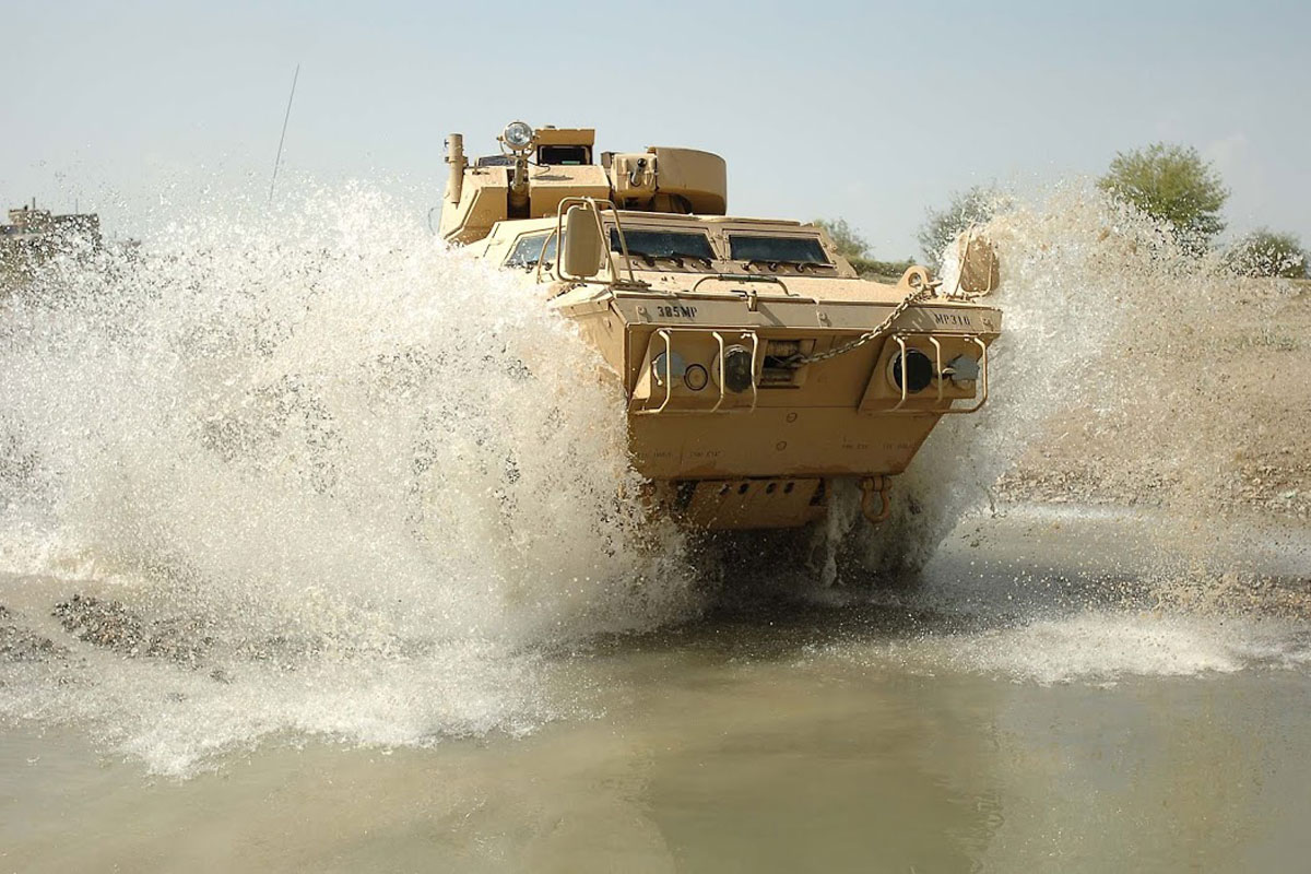 M1117 Armored Security Vehicle ASV