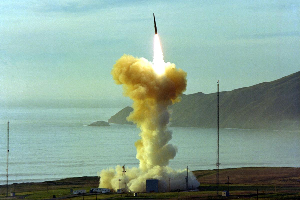 LGM-30 Minuteman III  Ballistic Missile