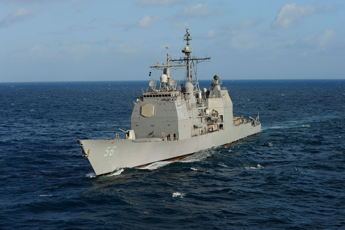 Ticonderoga Class Cruiser - CG | Military.com Navy Cruiser Ships