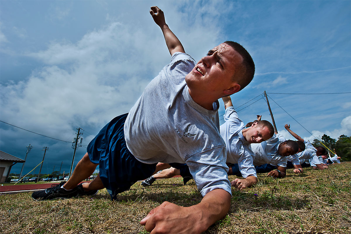 Fitness and Weight Training for Military Recruits pics