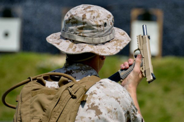 Marines Allow Operators to Choose Glocks over MARSOC  45s | Military com