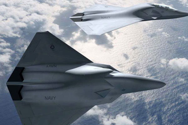 navy secretary says future navy fighter planes will be