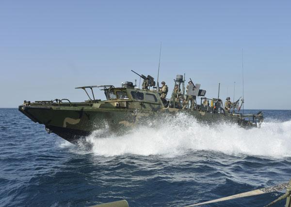 riverine command boat 600.