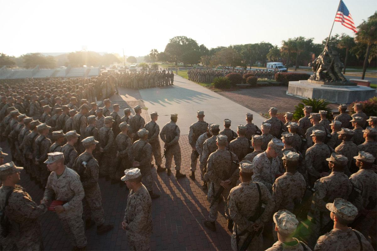 marine boot camp covered up recruits u0026 39  hazing