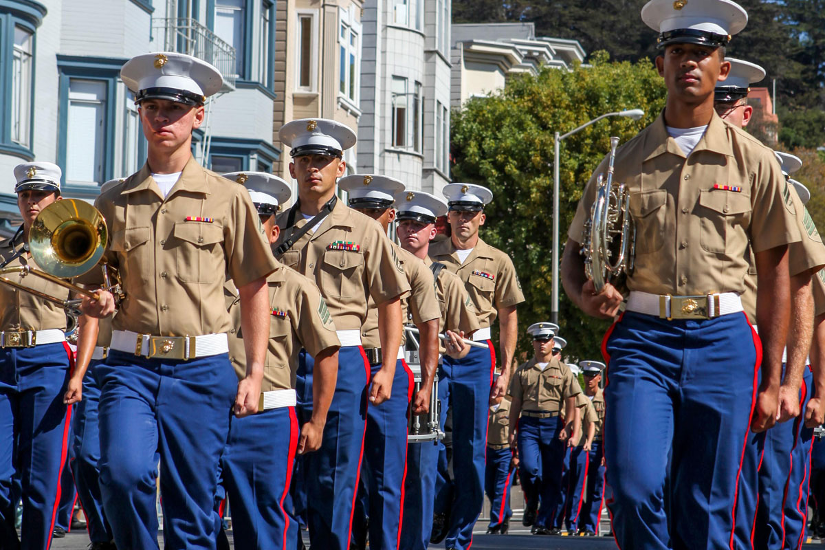 Marines Celebrate Italian Heritage With San Francisco