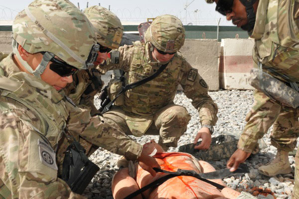 military removes live animals from combat medical training