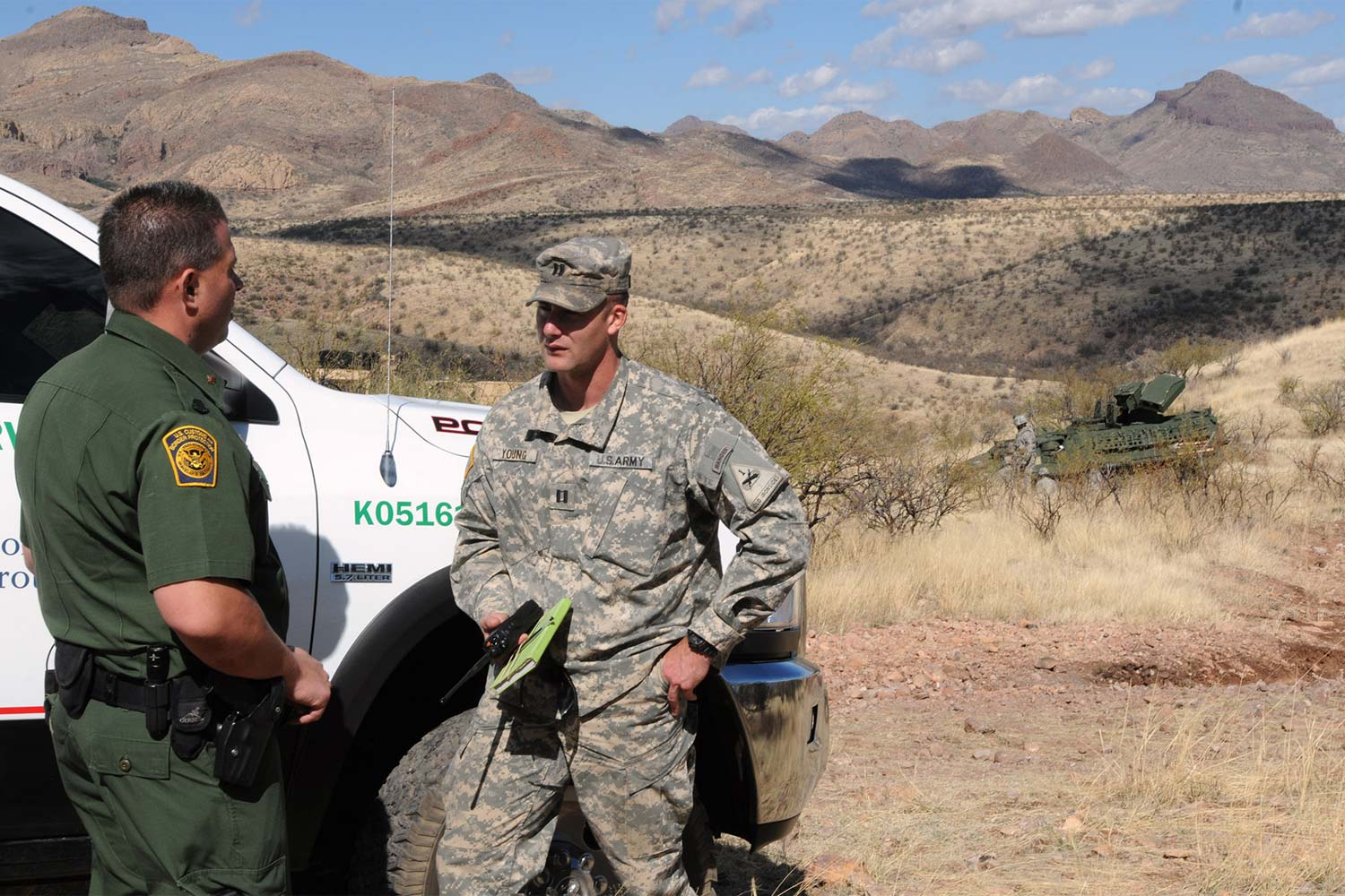 Army Training May Help Thwart Drug Flow In Southwest Us