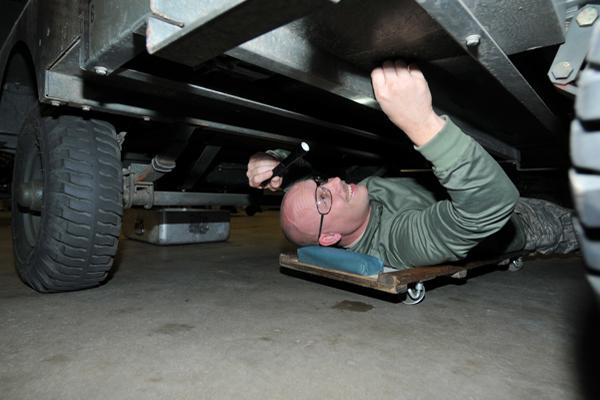 auto repair  jacks and creepers