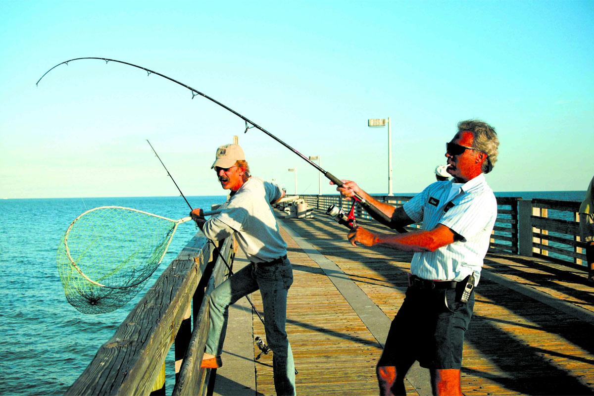 Pier fishing primer for Pier fishing tips